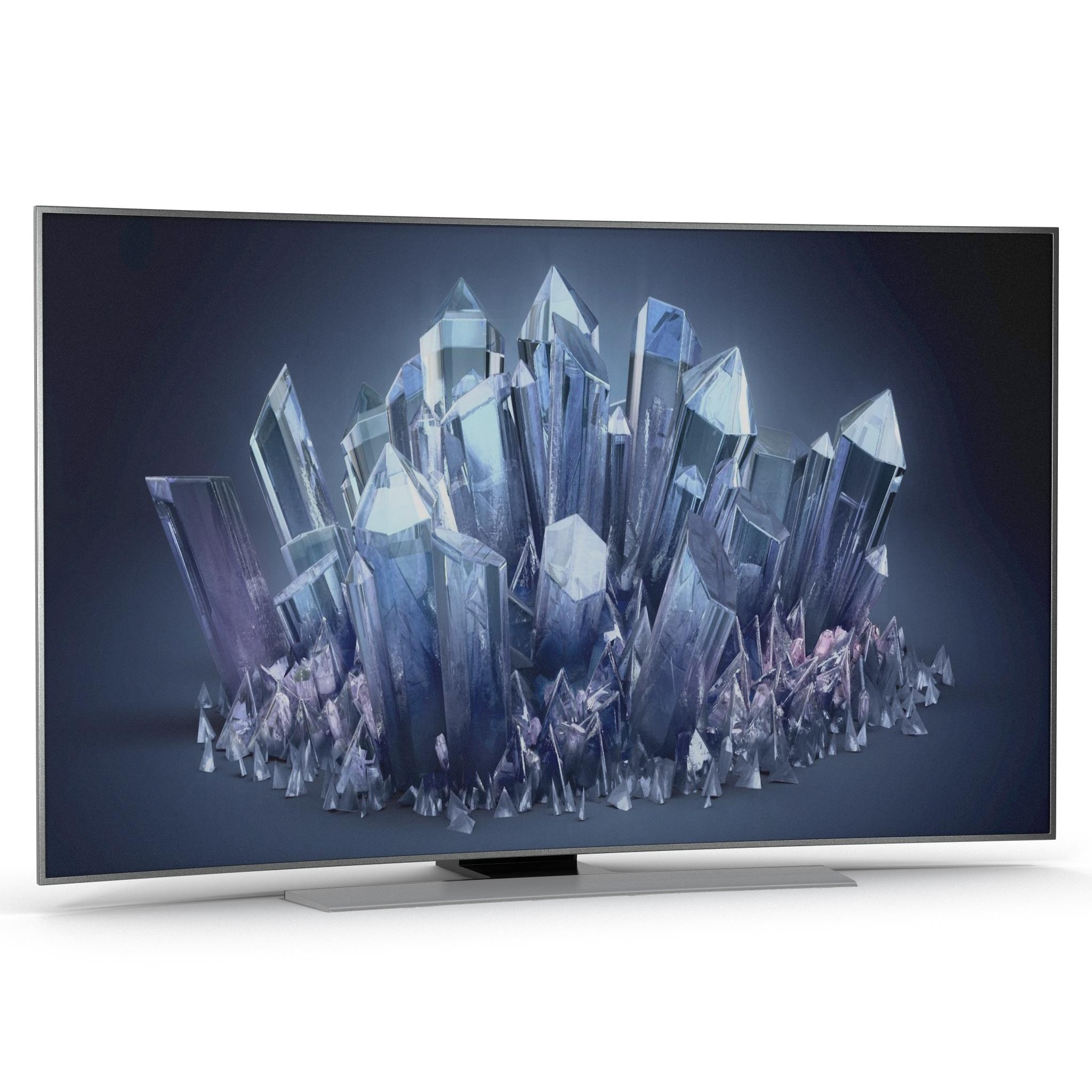 Samsung 4k Uhd Hu9000 Series Smart Tv 65 Zoll Gebogen 3d Modell