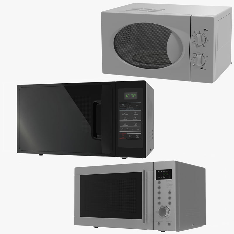 3d microwave ovens generic 2