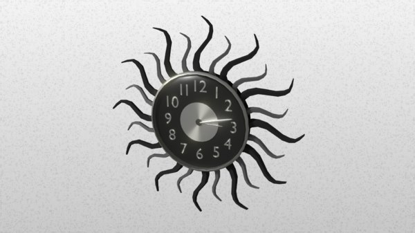 3ds wall clock