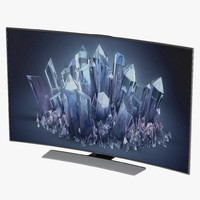 Samsung 4K UHD HU9000 Series Curved Smart TV 55 inch