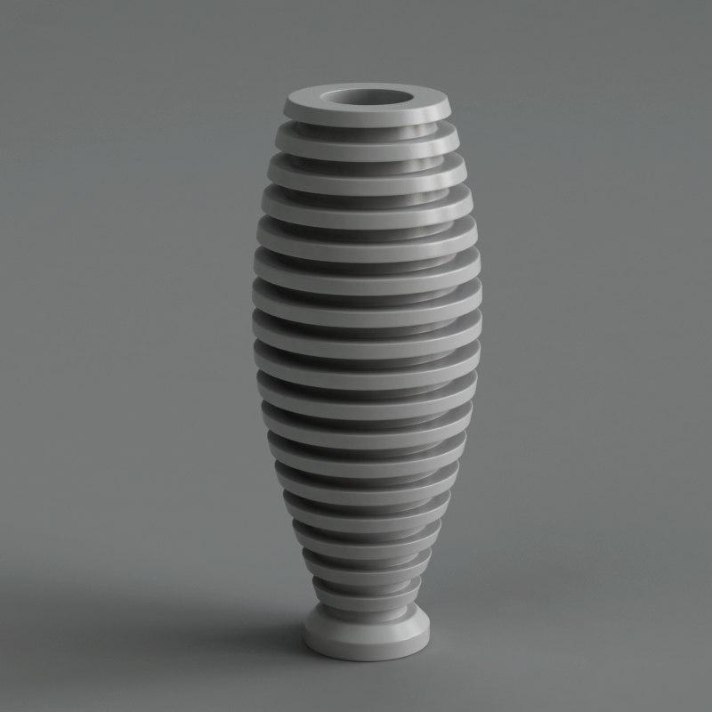 free obj model vase