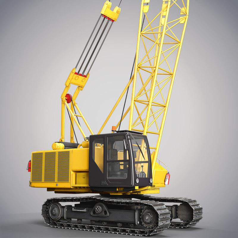 crawler crane max
