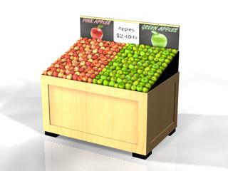 3dsmax display apples