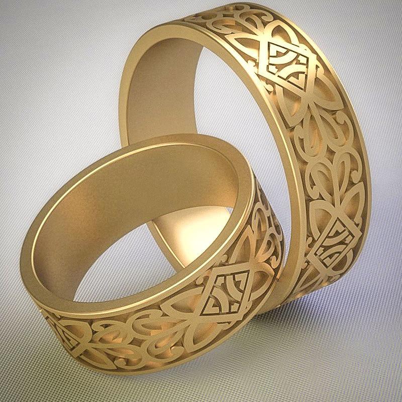 3dm celtic ring