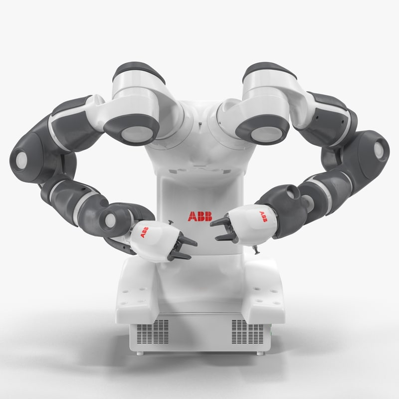max abb yumi robot rigged