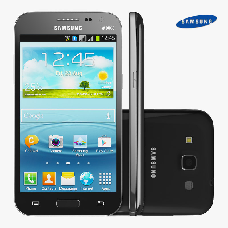 3d model samsung galaxy win phone