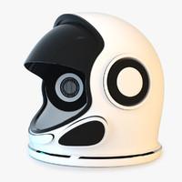 astronaut helmet space 3d max