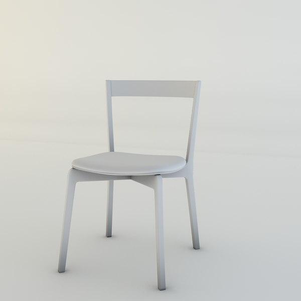 modern chair 3d obj