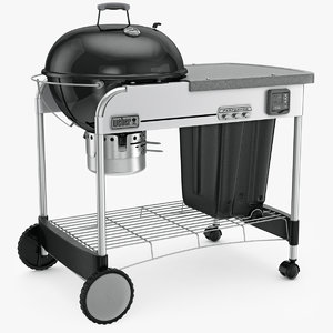 3d weber grill charcoal gbs model