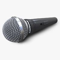 3d microphone shure model