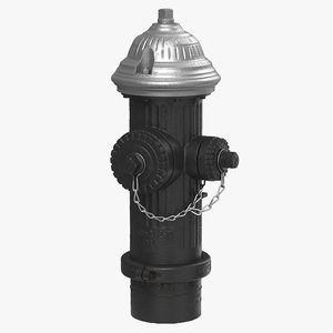 3d hydrant nyc model