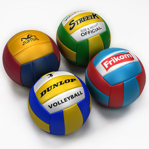 volley ball 3d max