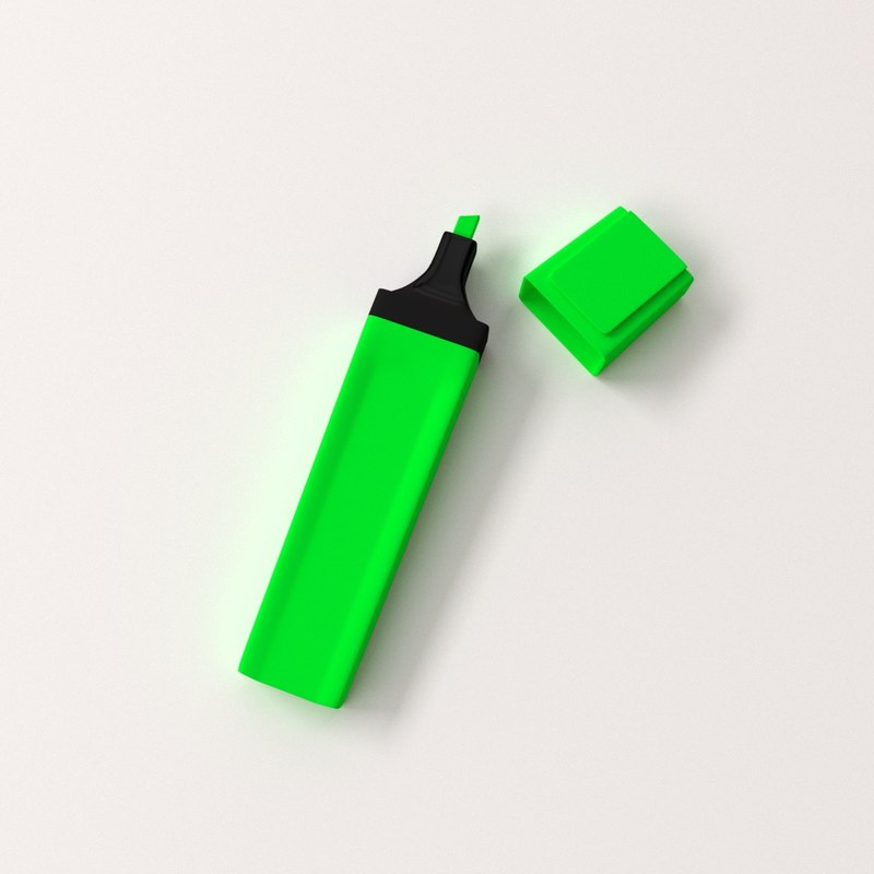 blend highlighter pen