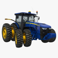 Tractor Generic 4 Rigged