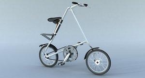 stride bike 3d model