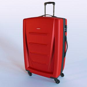 samsonite bag 3d model