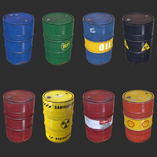3d barrel pack