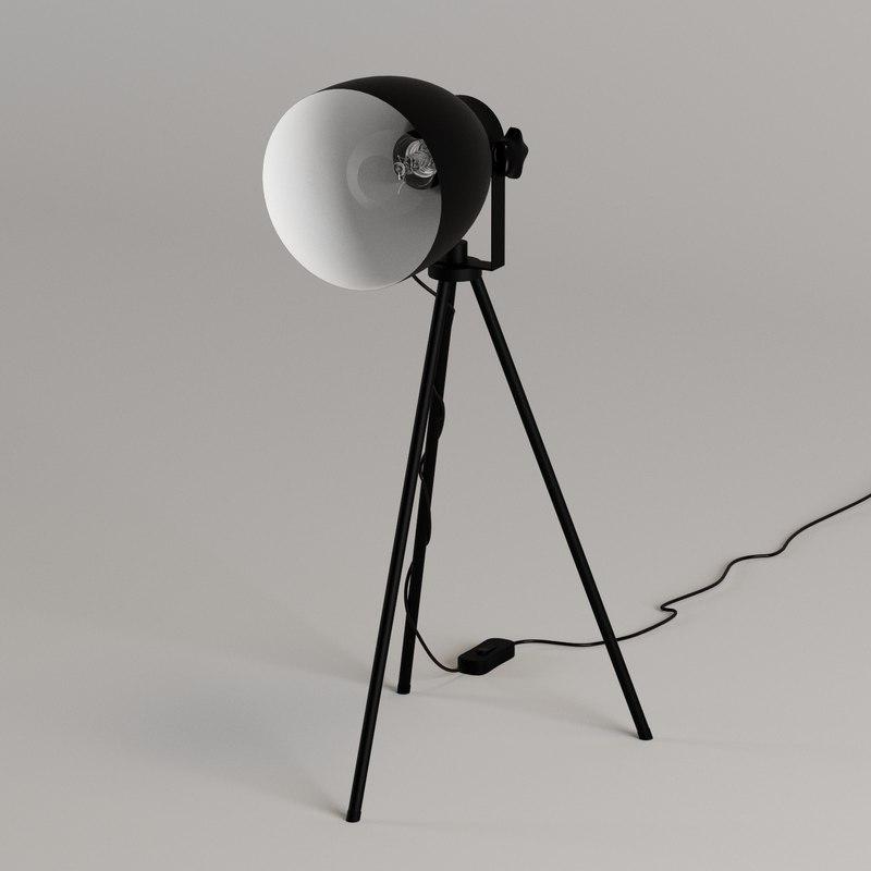 studio tripod table lamp max