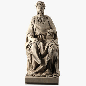 st john evangelist donatello 3d model
