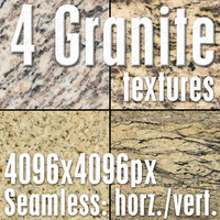 4 High Res Seamless Granite Textures Vol.03 Part2