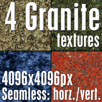 4 High Res Seamless Granite Textures Vol.03 Part3