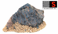 tenerife blue stone 8k obj