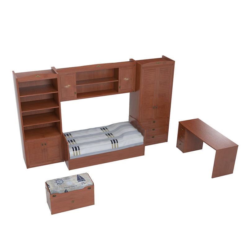 3dsmax atlantida baby furniture