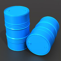 3d barrel polys uv