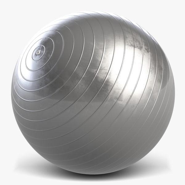 anti burst gym ball 3d max