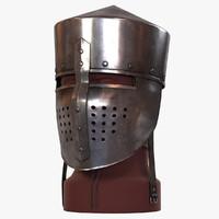 max flat helmet medieval
