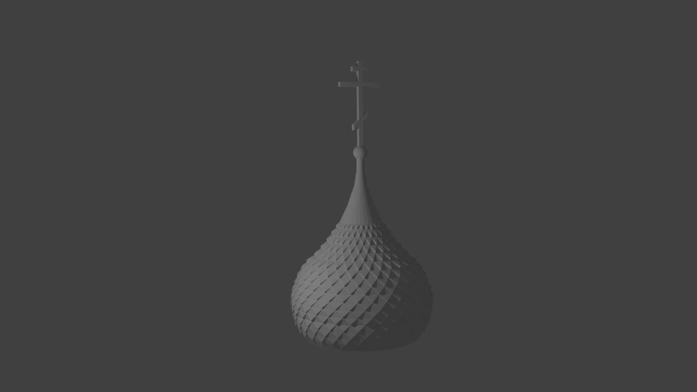 free kupol 3d model