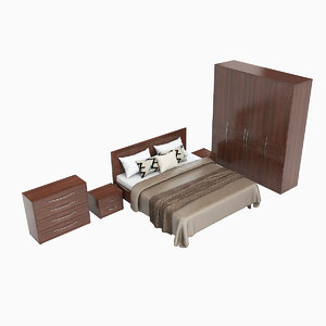 3d onda bedroom set