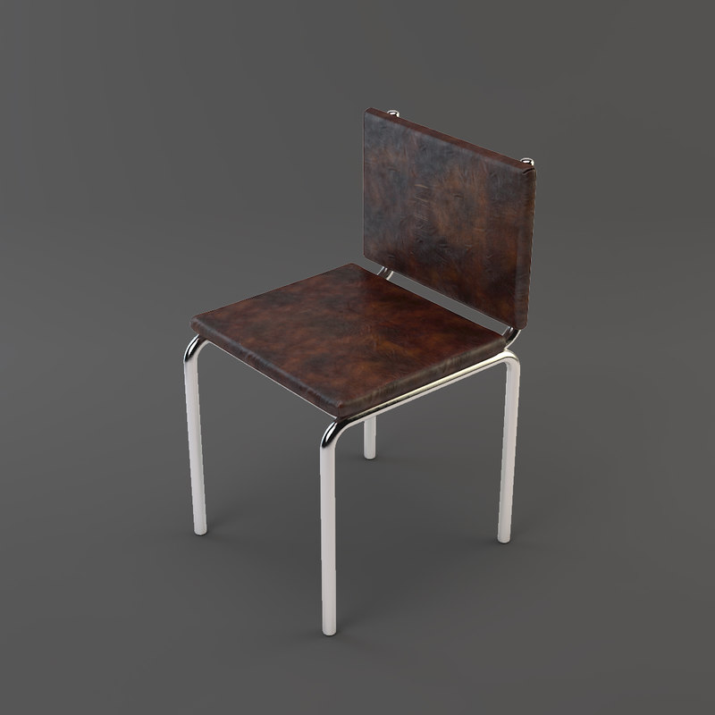 3ds max metal chair