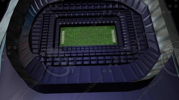 football stadium x