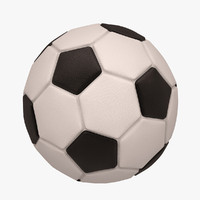 football soccer ball 3d model