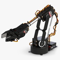 3d al5d robotic hand