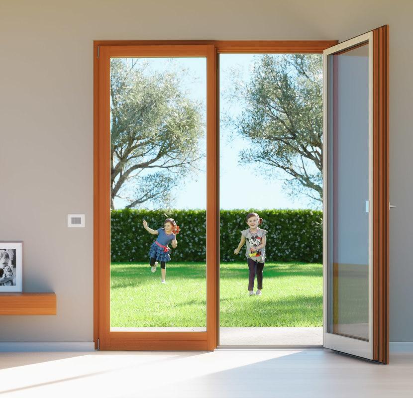 french double door window 3ds