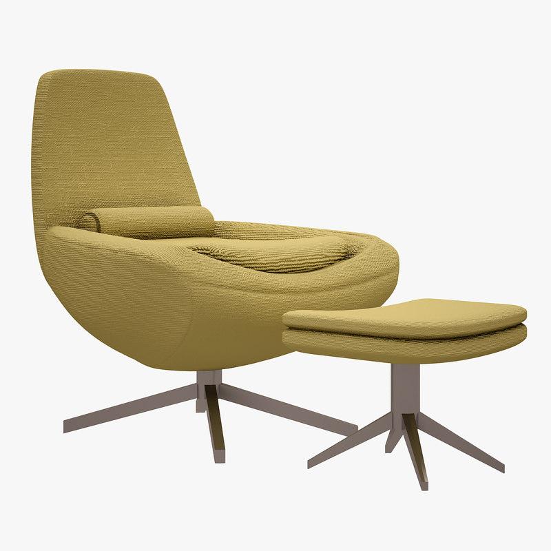 3d max metropolitan chair b