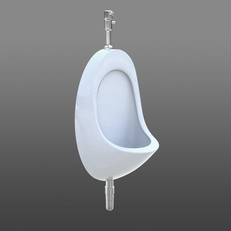 toilet urinal 3d max