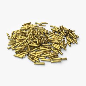 cartridge shells 3d x