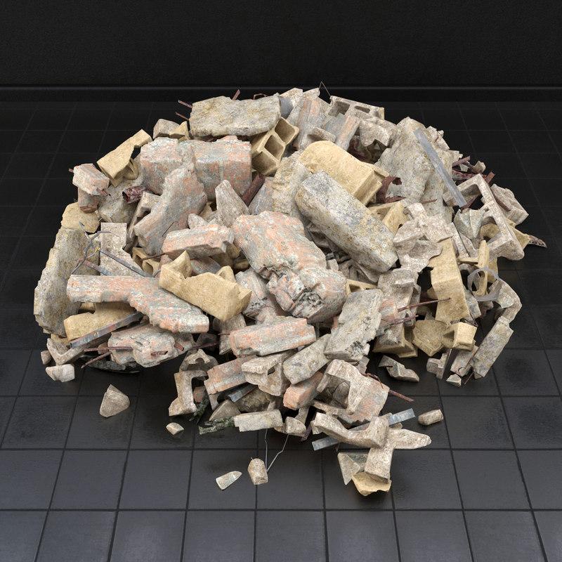 3d max garbage dump
