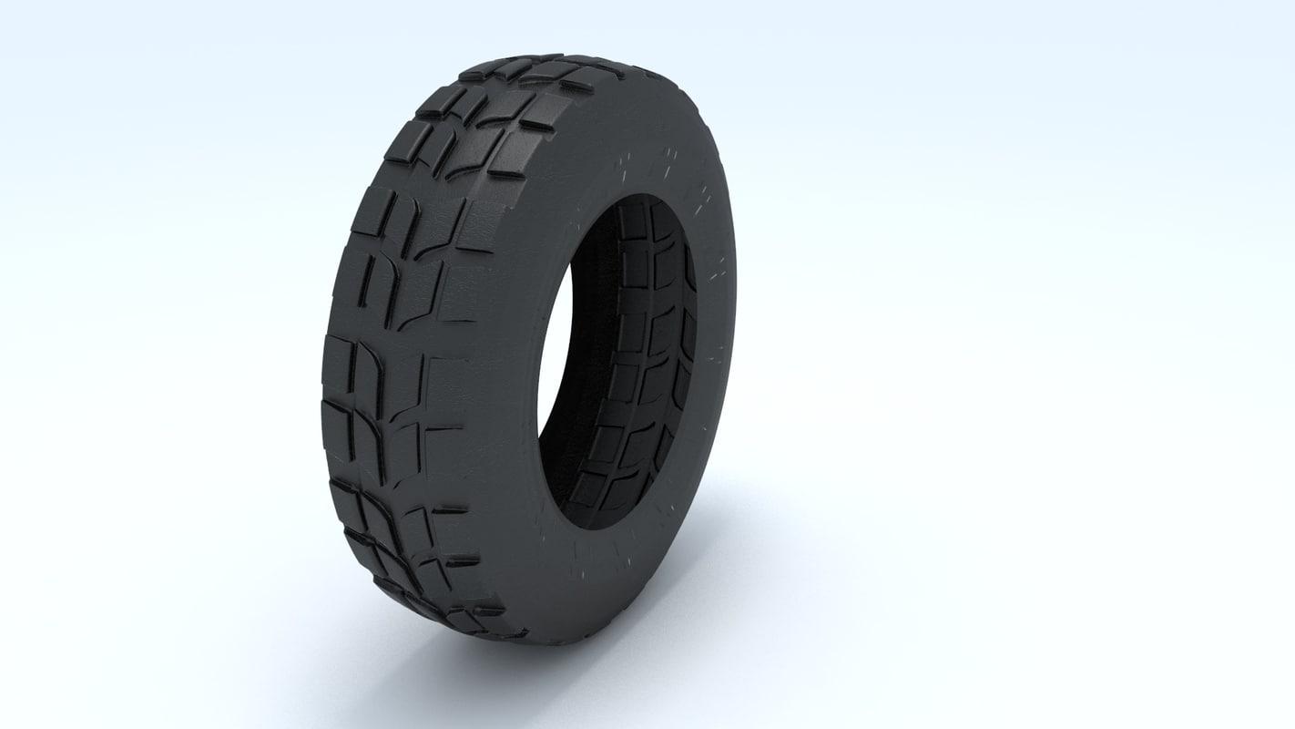 free wheel destan 3d model