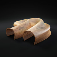 3d model matthias-pliessnig-wooden-sculptural-seats