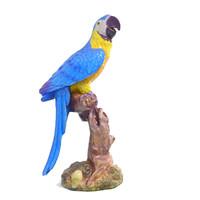 3d model of ara parrot statue