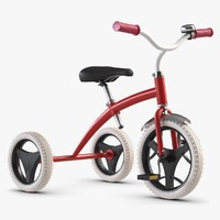 3d children s tricycle toy model