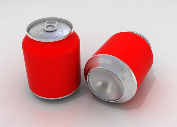 3ds max mini soft drink