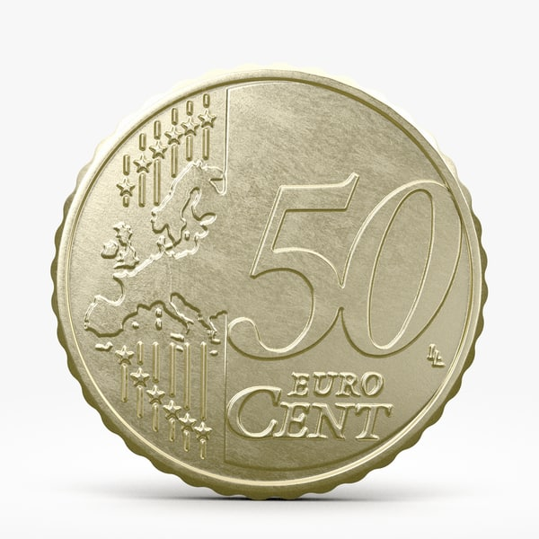 3d fifty euro cent
