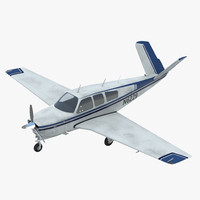 Civil Utility Aircraft Beechcraft Bonanza S35 V Tail