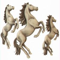 3d bas-relief horse model