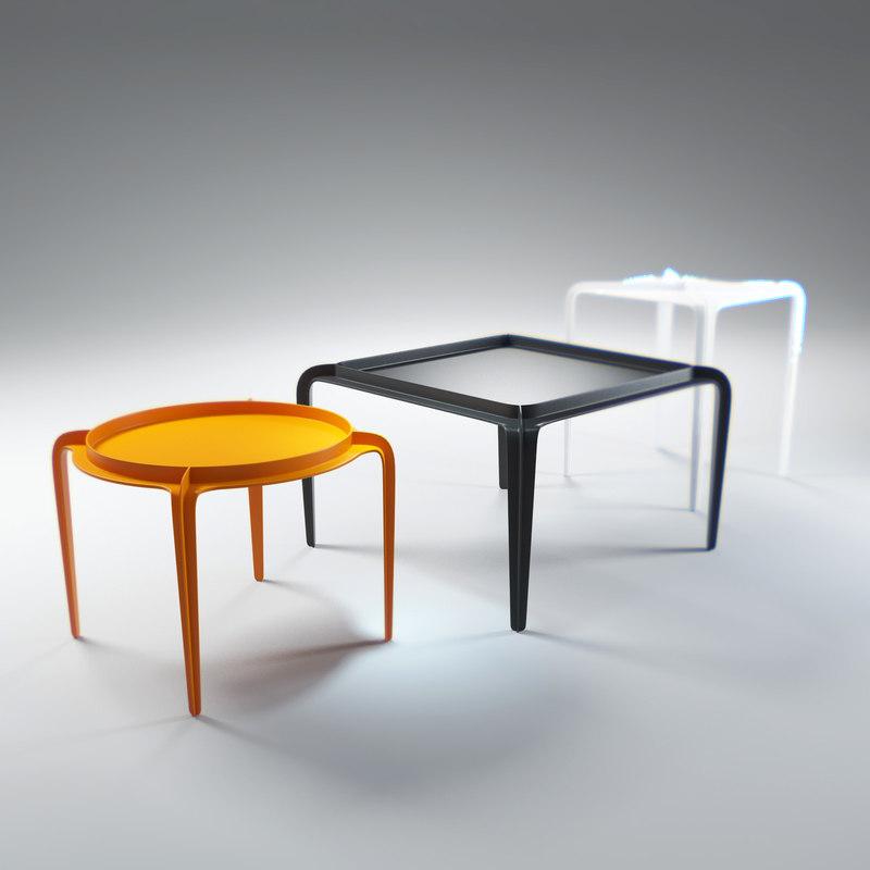 hafucha-side-table 3d max